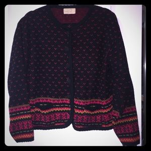 Vintage button up sweater